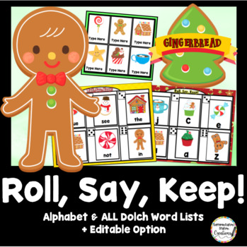 Roll, Say, Keep: Editable