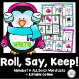Roll, Say, Keep: Editable Winter