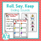 Roll, Say, Keep: Ending Sounds