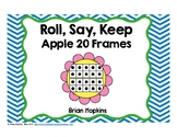 Roll, Say, Keep Flower Counting to 20