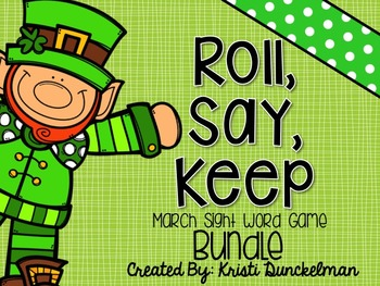 Roll, Say, Keep -- March Bundle