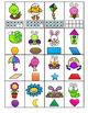 Roll, Say, Keep Math Center Game Spring