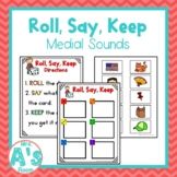 Roll, Say, Keep: Medial Sounds