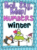 Roll, Say Keep {Winter Numbers}