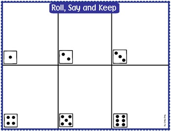 Roll, Say and Keep - BOARDS ONLY (small scallops)