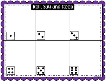 Roll, Say and Keep - BOARDS ONLY (BIG scallops)