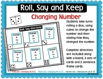 Roll, Say and Keep Changing Number
