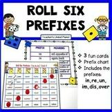 Prefix Games - Roll Six Prefixes!