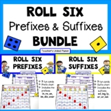 Prefix and Suffix Game Bundle and Anchor Charts!
