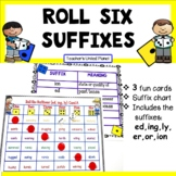 Suffix Games - Roll Six Suffixes!