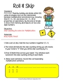 Roll & Skip: Skip Counting to Solve for Multiplication (Common Core)