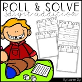 Roll & Solve 3-Digit Addition