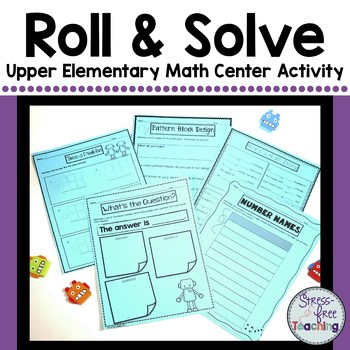 Math Center Activities for Upper Elementary