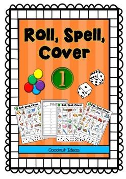 Roll Spell Cover 1- CVC Words