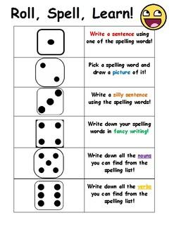 Roll, Spell, Learn!