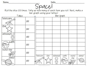 Roll Tally Graph Through The Year BUNDLE set of 18 Graphing Math Centers