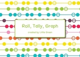Roll, Tally, Graph - a data game for Math {Common Core Aligned}