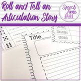 Roll and Tell An Articulation Story