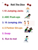 Roll The Dice Fitness Activity, K-2