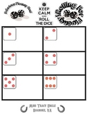 Roll The Dice: Fluency Game [Customizable/Blank]