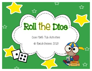 Roll The Dice Math Tubs