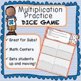 Roll The Dice Multiplication Game