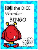 Roll The Dice Number BINGO