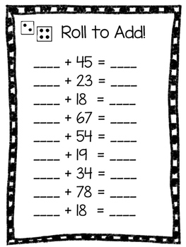 Roll To Add