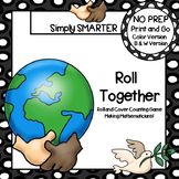 Roll Together:  NO PREP Martin Luther King Themed Counting Game