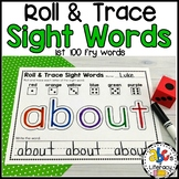 Roll & Trace Sight Word Worksheets (1st 100 Fry Sight Words)