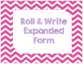 Roll & Write Expanded Form