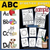 Alphabet Worksheets- FREEBIE-