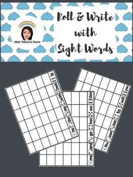Roll & Write [Sight Words]