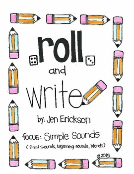 Roll & Write: Simple Sounds