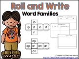 Roll & Write Word Families