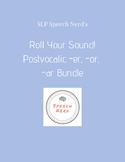 Roll Your Sound Postvocalic /r/: -er, -ar, -or Worksheets