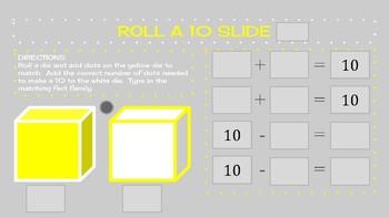 Roll a 10 Slides