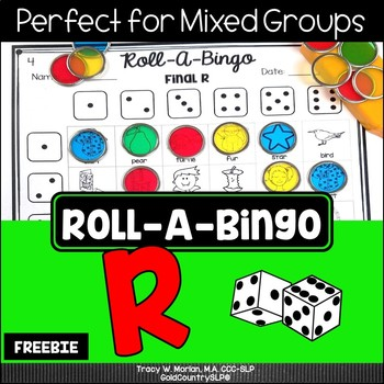 Roll a Bingo R! FREEBIE