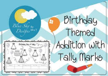 Roll a Birthday Party Drawing Activity