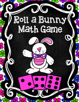 Roll a Bunny Math Game