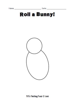 Roll a Bunny! {Spring/Easter}