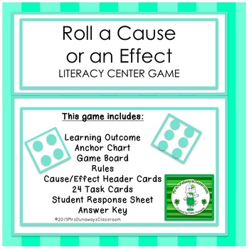 Roll a Cause or Effect