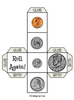 Roll a Coin Cube {Money}