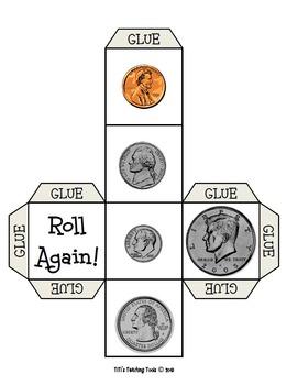 Roll a Coin Cube {Money}