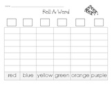 Roll-a-Color Word Game
