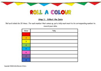 Roll a Colour Tally and Graph