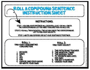 Roll a Complex Sentence