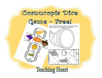 Roll a Cornucopia - Free and Easy Game for Thanksgiving