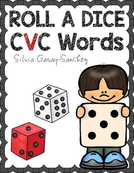 Roll a Dice CVC Words