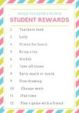 Roll a Dice Classroom Reward System